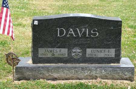 DAVIS, EUNICE E - Richland County, Ohio | EUNICE E DAVIS - Ohio Gravestone Photos