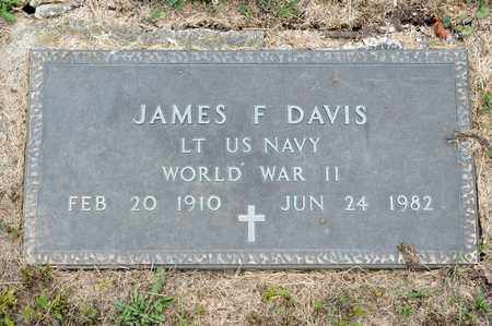 DAVIS, JAMES F - Richland County, Ohio | JAMES F DAVIS - Ohio Gravestone Photos