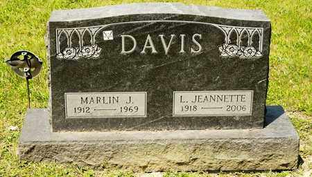 DAVIS, MARLIN J - Richland County, Ohio | MARLIN J DAVIS - Ohio Gravestone Photos