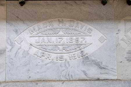 DAVIS, MACK H - Richland County, Ohio   MACK H DAVIS - Ohio Gravestone Photos