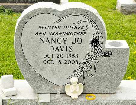 DAVIS, NANCY JO - Richland County, Ohio | NANCY JO DAVIS - Ohio Gravestone Photos