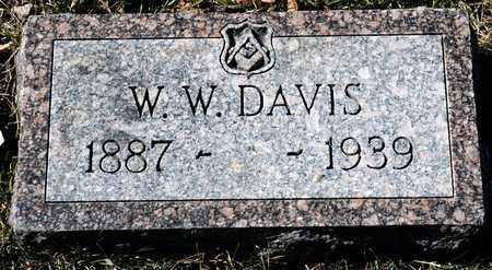 DAVIS, W W - Richland County, Ohio | W W DAVIS - Ohio Gravestone Photos