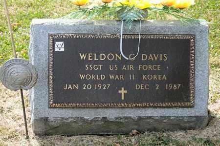 DAVIS, WELDON G - Richland County, Ohio | WELDON G DAVIS - Ohio Gravestone Photos