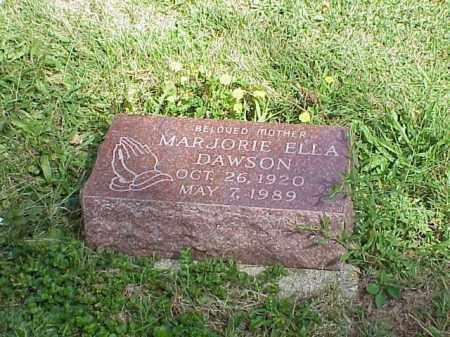 DAWSON, MARJORIE ELLA - Richland County, Ohio | MARJORIE ELLA DAWSON - Ohio Gravestone Photos