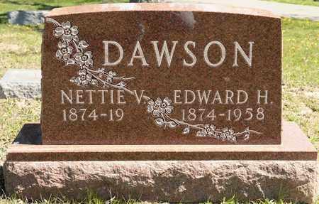 DAWSON, NETTIE V - Richland County, Ohio | NETTIE V DAWSON - Ohio Gravestone Photos