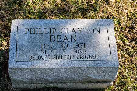 DEAN, PHILLIP CLAYTON - Richland County, Ohio | PHILLIP CLAYTON DEAN - Ohio Gravestone Photos