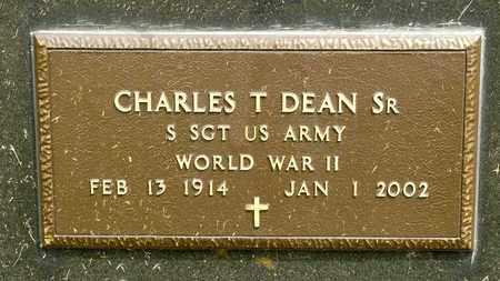 DEAN SR, CHARLES T - Richland County, Ohio | CHARLES T DEAN SR - Ohio Gravestone Photos