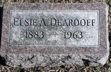 DEARDOFF, ELSIE A - Richland County, Ohio | ELSIE A DEARDOFF - Ohio Gravestone Photos