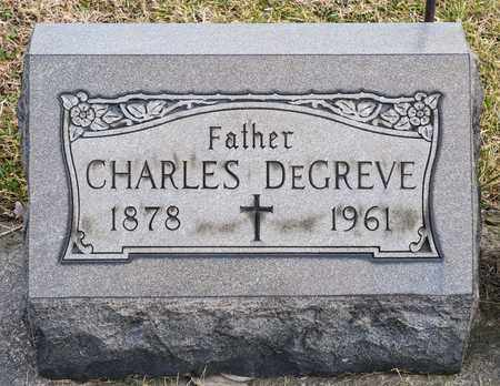 DEGREVE, CHARLES - Richland County, Ohio | CHARLES DEGREVE - Ohio Gravestone Photos