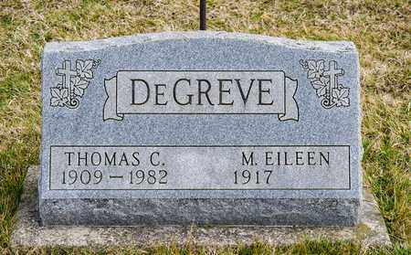 DEGREVE, THOMAS C - Richland County, Ohio | THOMAS C DEGREVE - Ohio Gravestone Photos