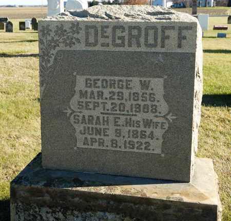 DEGROFF, GEORGE W - Richland County, Ohio | GEORGE W DEGROFF - Ohio Gravestone Photos