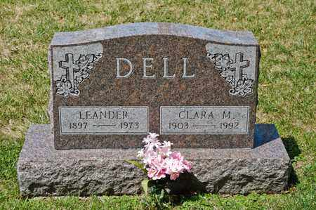 DELL, LEANDER - Richland County, Ohio | LEANDER DELL - Ohio Gravestone Photos