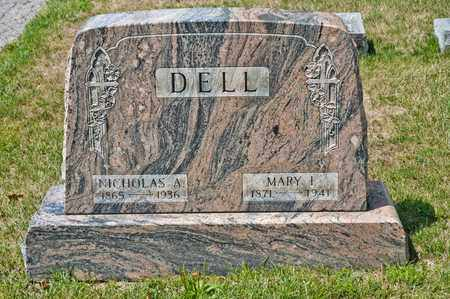 DELL, MARY I - Richland County, Ohio | MARY I DELL - Ohio Gravestone Photos
