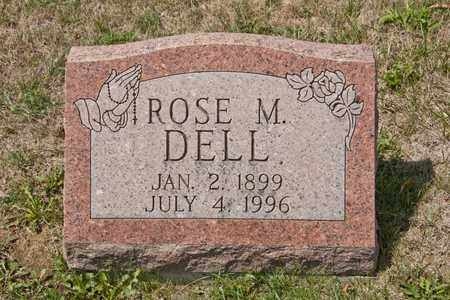 DELL, ROSE M - Richland County, Ohio | ROSE M DELL - Ohio Gravestone Photos