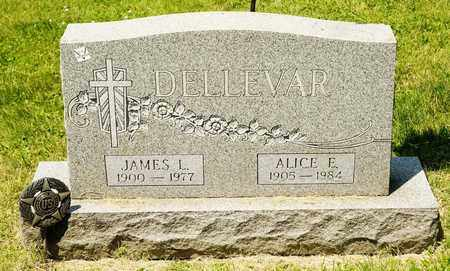 DELLEVAR, JAMES L - Richland County, Ohio | JAMES L DELLEVAR - Ohio Gravestone Photos