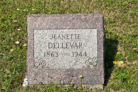 DELLEVAR, JEANETTE - Richland County, Ohio | JEANETTE DELLEVAR - Ohio Gravestone Photos