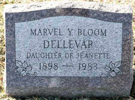 DELLEVAR, MARVEL Y - Richland County, Ohio | MARVEL Y DELLEVAR - Ohio Gravestone Photos