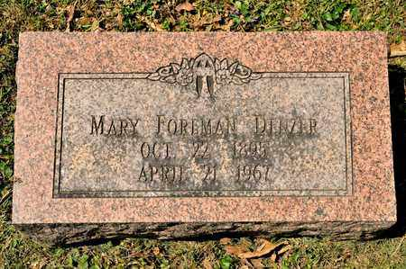 DENZER, MARY - Richland County, Ohio | MARY DENZER - Ohio Gravestone Photos
