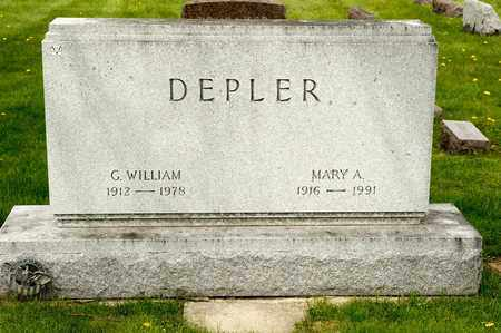 DEPLER, MARY A - Richland County, Ohio | MARY A DEPLER - Ohio Gravestone Photos