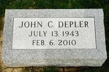 DEPLER, JOHN C - Richland County, Ohio | JOHN C DEPLER - Ohio Gravestone Photos