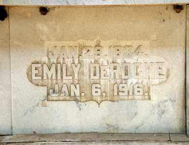 DEROCHE, EMILY - Richland County, Ohio | EMILY DEROCHE - Ohio Gravestone Photos
