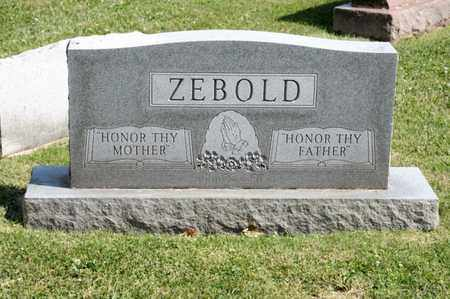 ZEBOLD, CLOYD M - Richland County, Ohio | CLOYD M ZEBOLD - Ohio Gravestone Photos