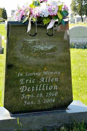 DETILLION, ERIC ALLEN - Richland County, Ohio | ERIC ALLEN DETILLION - Ohio Gravestone Photos