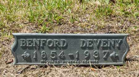 DEVENY, BENFORD - Richland County, Ohio | BENFORD DEVENY - Ohio Gravestone Photos