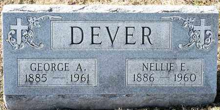 DEVER, NELLIE E - Richland County, Ohio | NELLIE E DEVER - Ohio Gravestone Photos
