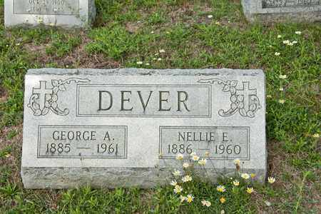 DEVER, GEORGE A - Richland County, Ohio | GEORGE A DEVER - Ohio Gravestone Photos