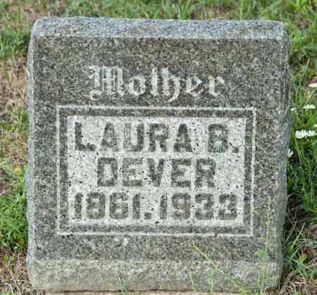 DEVER, LAURA B - Richland County, Ohio | LAURA B DEVER - Ohio Gravestone Photos
