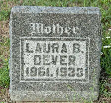 DEVER, LAURA B - Richland County, Ohio | LAURA B DEVER - Ohio Gravestone Photos