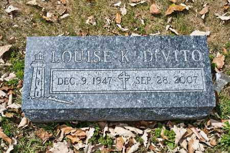 DEVITO, LOUISE K - Richland County, Ohio | LOUISE K DEVITO - Ohio Gravestone Photos