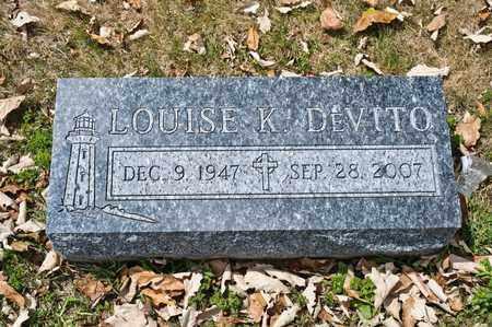 DEVITO, LOUISE K - Richland County, Ohio | LOUISE K DEVITO - Ohio Gravestone Photos