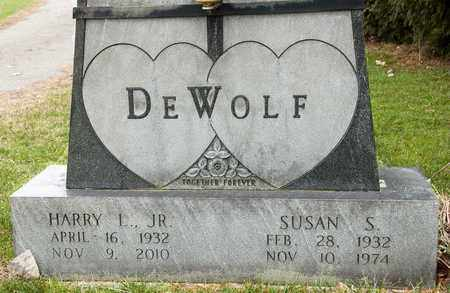 DEWOLF JR, HARRY L - Richland County, Ohio | HARRY L DEWOLF JR - Ohio Gravestone Photos