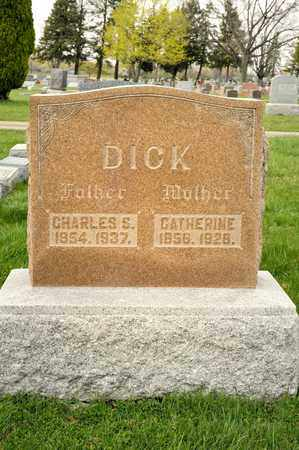 DICK, CHARLES S - Richland County, Ohio | CHARLES S DICK - Ohio Gravestone Photos