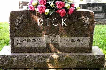 DICK, CLARENCE C - Richland County, Ohio | CLARENCE C DICK - Ohio Gravestone Photos
