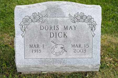 DICK, DORIS MAY - Richland County, Ohio | DORIS MAY DICK - Ohio Gravestone Photos