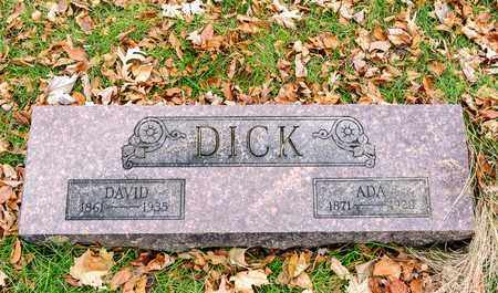 DICK, DAVID - Richland County, Ohio | DAVID DICK - Ohio Gravestone Photos
