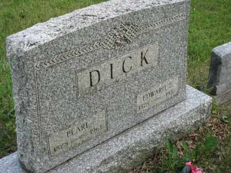 DICK, EDWARD E. - Richland County, Ohio | EDWARD E. DICK - Ohio Gravestone Photos