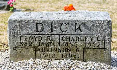 DICK, CHARLEY C - Richland County, Ohio | CHARLEY C DICK - Ohio Gravestone Photos
