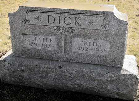 DICK, FREDA - Richland County, Ohio | FREDA DICK - Ohio Gravestone Photos