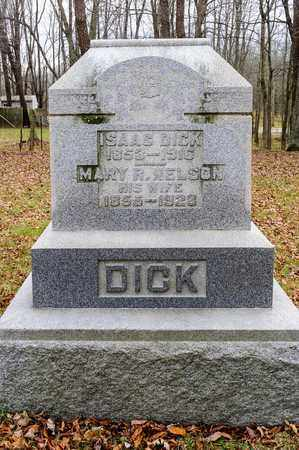 DICK, ISAAC - Richland County, Ohio | ISAAC DICK - Ohio Gravestone Photos