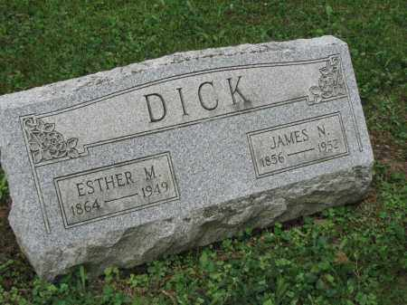 DICK, JAMES N. - Richland County, Ohio | JAMES N. DICK - Ohio Gravestone Photos