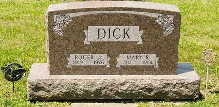 DICK JR, ROGER - Richland County, Ohio | ROGER DICK JR - Ohio Gravestone Photos