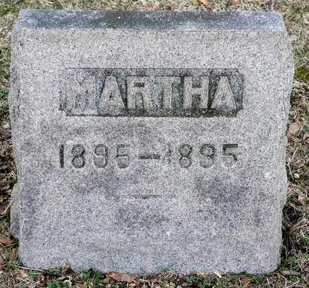 DICK, MARTHA - Richland County, Ohio | MARTHA DICK - Ohio Gravestone Photos
