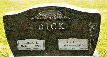 DICK, RUTH E - Richland County, Ohio | RUTH E DICK - Ohio Gravestone Photos