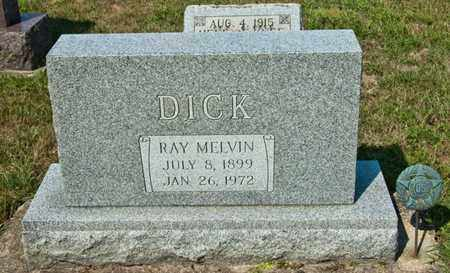 DICK, RAY MELVIN - Richland County, Ohio | RAY MELVIN DICK - Ohio Gravestone Photos