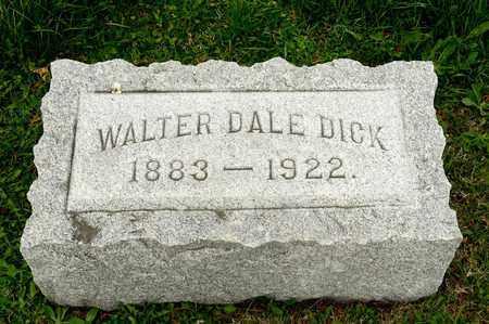DICK, WALTER DALE - Richland County, Ohio | WALTER DALE DICK - Ohio Gravestone Photos
