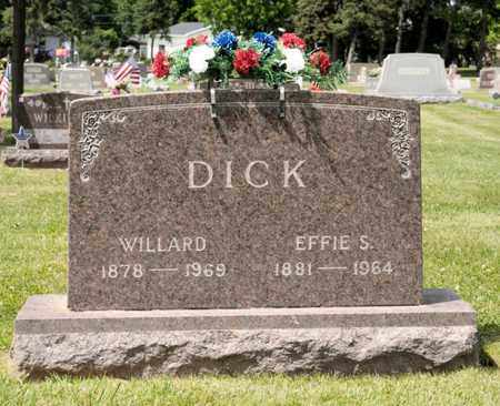 DICK, WILLARD - Richland County, Ohio | WILLARD DICK - Ohio Gravestone Photos